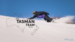 Tasman Team- Mike Handford. Episode Three of YES Snowboard's Video Series