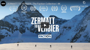 Zermatt to Verbier - Award Winning Film From Faction Skis