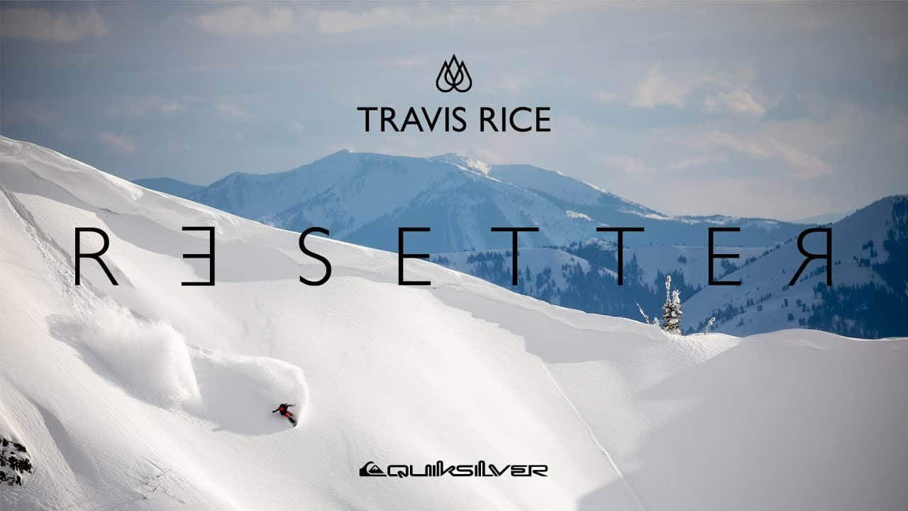 Resetter - Latest Film from Travis Rice and It's a Cracker