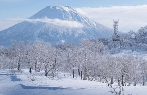 The clear weather made for some great views this week but the powder is back in Niseko. Photo: Sea and Summit Media