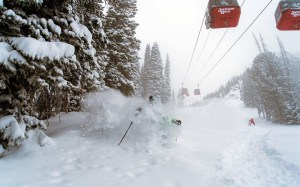 Jackson Hole yesterday morning after overnight. Photo: Chris Figenshau
