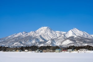 Myoko on Monday - as we move into spring high pressure systems will bring mor e sn=unny days. Photo: Myoko Tourism