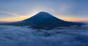 My Yotei during a beautiful sunrise at Niseko last weekend. Photo: Sea and Summit Photography