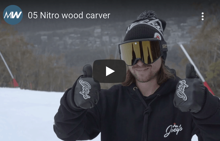 Gear Guide - Nitro Wood Carver Snowboard Video Review