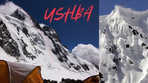 Ushba - Skiing Alaskan-style Lines in Georgia's Caucasus Mountains. Video