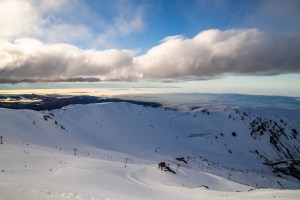 Mt Hutt looking good  yesterday. It opened last week tanks to big snowfalls a couple of weeks ago. Photo: NZSki
