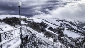 Hotham on June 10 after last week;s storm dropped 50cms over a four-day period. Photo: Chris Hocking