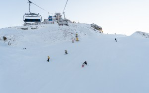 Opening Day at Cornet Peak today. Photo: NZSki.com