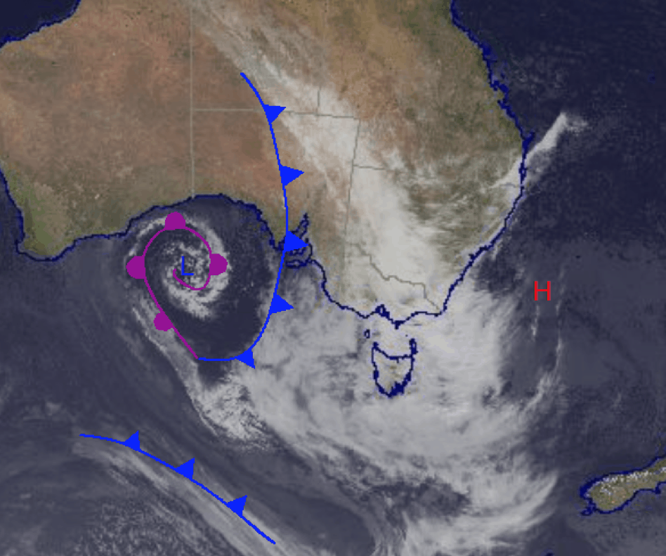 Australian Forecast, Wednesday June 23 - Wild, Wet Weather To Hit Today