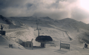 Cardrona this morning after 9cms in the past 24 hours. Photo: Cardrona