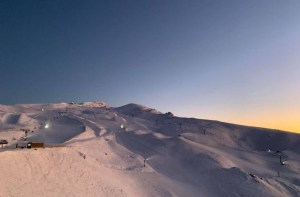 A perfect morning in Cardrona today. Photo: Cardrona
