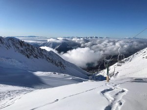Ohau ski field, looking inviting last week and it received 1 metres in 48 hours from this week's storm. Photo: Ohau Snow Fields