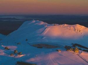 Beautiful photo of Mt Buller on Wednesday morning, but the weather wil close in tonight. Photo: Tony Harrington/@harroart