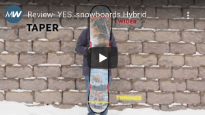 Gear Guide Video Review - YES. Snowboard's Hybrid Uninc DCP