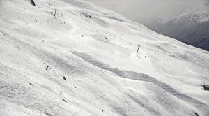 Treble Cone this morning, and there's more snow anther way this weekend.