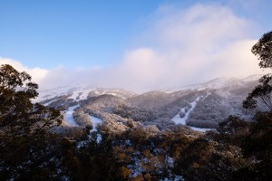 Thredbo looking at its best after the first July storm. Photo: Thredbo