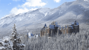 Fairytale-esque lodging can be found at the Fairmont Banff Springs Hotel, just five minutes drive from the town centre in Banff. Canada's 'Castle in the Rockies' has been providing legendary hospitality for more than 125 years. Image:: Banff & Lake Louise Tourism/Fairmont Hotels & Resorts